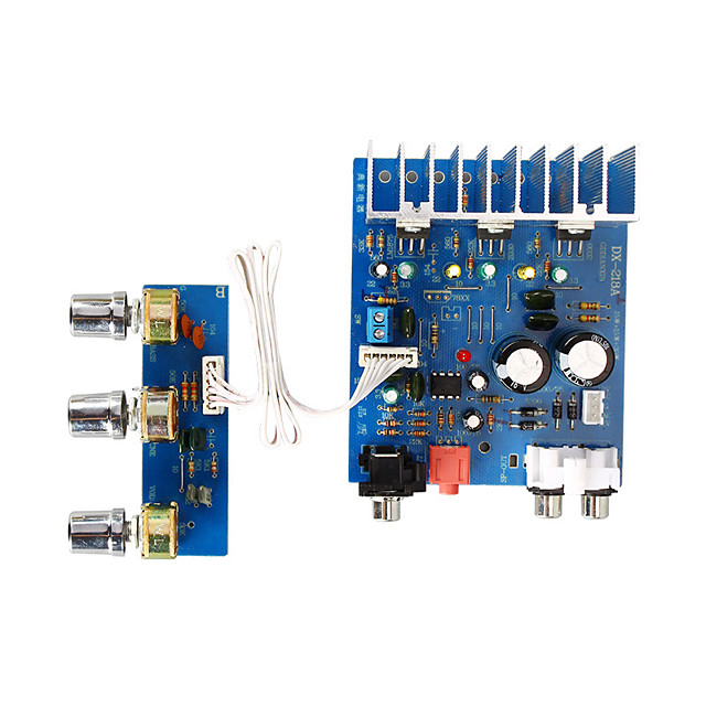Amplifier Board Digital Audio Stereo Hi-Fi 12-15 V 15+15 2.1 Bass Amplifier Adapters 20-200 Hz for Car Home Theater Speakers DIY