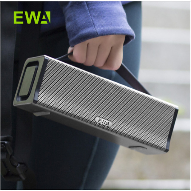 EWA D560 Outdoor Bluetooth Speaker Waterproof High Power Big Sound and Bass Portable for Small Party/Sreet Dance/Public Park Use