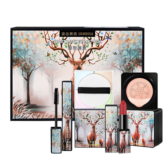 Makeup Set CC Cream Wet Large Capacity Lifted lashes Uneven Skin Tone Christmas Gifts Birthday Congratulations Gift Casual / Daily