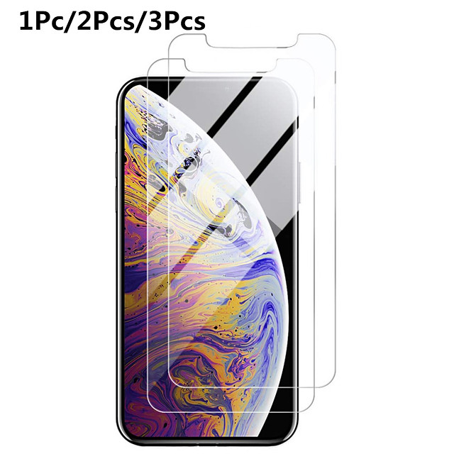 Screen Protector for iphone 11 Pro Max XS XR 6s 7 8 Plus 5s SE 2 Screen Protector protective Glass on iphone X 11 Pro Max Tempered Glass