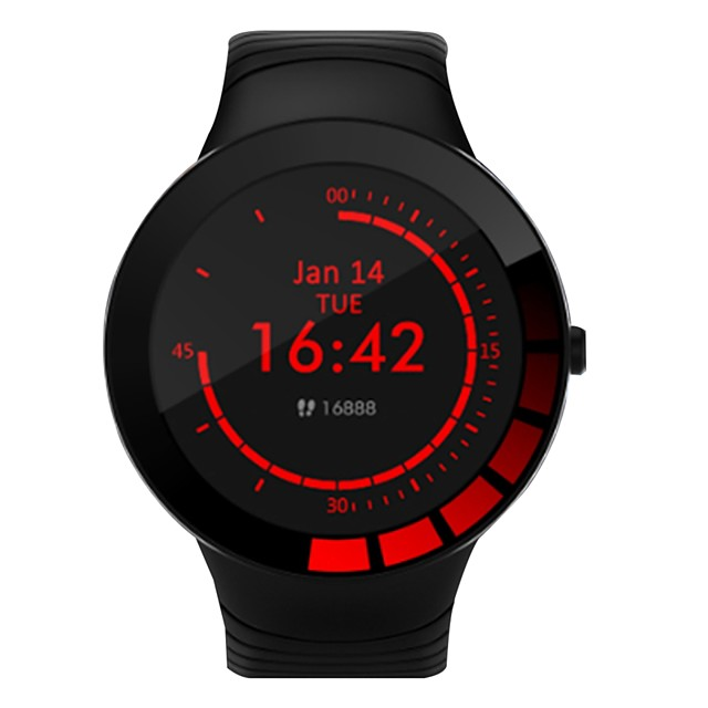E3 Long Battery-life Smartwatch Support IP68 Water-resistant, Sports Tracker for Android/ IOS Phones