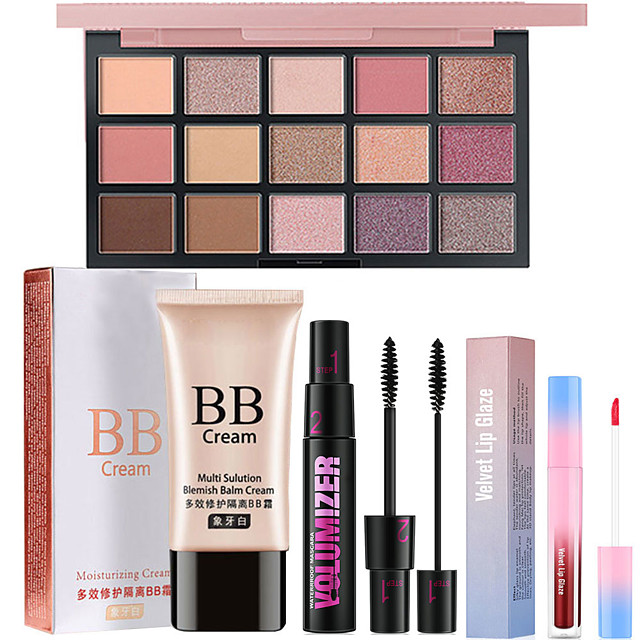 Makeup Set BB Cream Dry Large Capacity Long Lasting Beauty Birthday Gift Daily Daily Wear Date / Matte