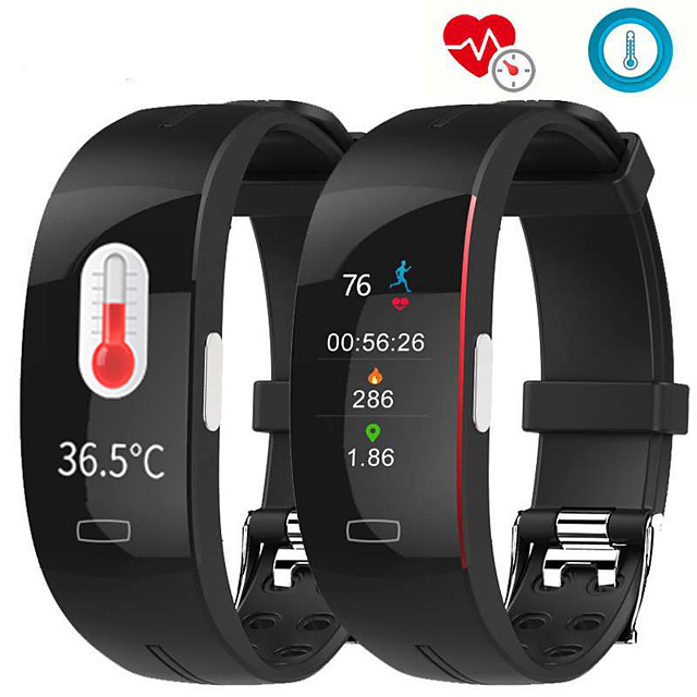 P3A Smart Band Watch With Remote Care ECG Temperature Blood Health Management Sport Fitness Tracker For Xiaomi huawei