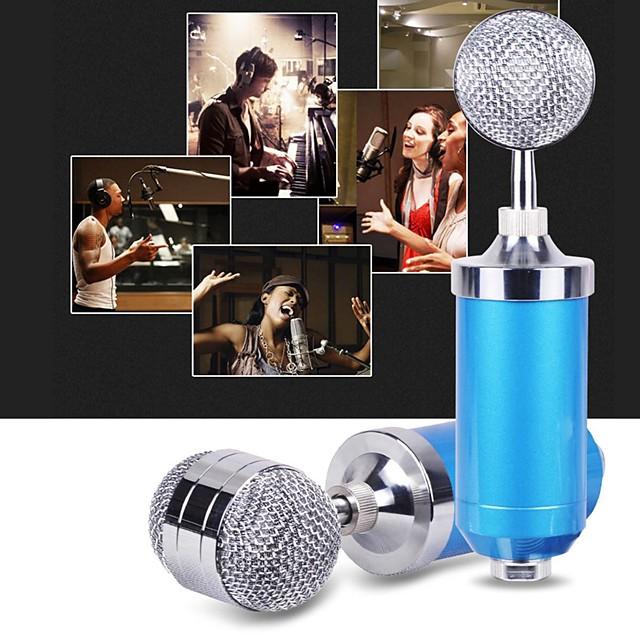 BM-3000 Microphone Studio Recording Condenser Mic Supply Metal Shock Mount Filter Live Microphone KTV Plug Stand Holder