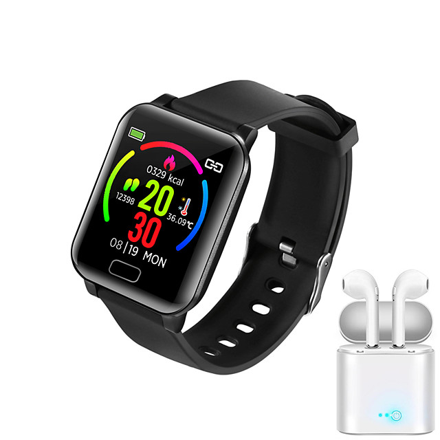 JSBP Y3  Women Smart Bracelet Smartwatch BT Fitness Equipment Monitor Waterproof Body Temperature Detection with TWS Bluetooth Wireless for Android Samsung/Huawei/Xiaomi iOS Mobile Phone