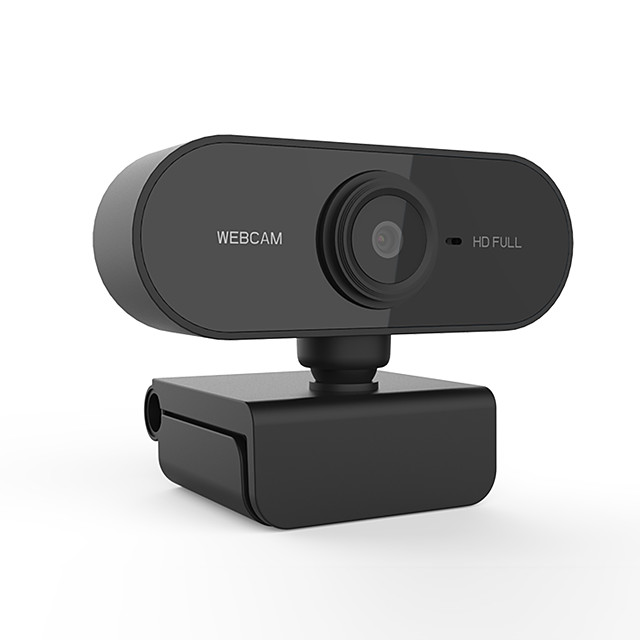 PC01 HD 1080P Webcam Mini Computer Pc WebCamera Anti-peeping Rotatable Camera for Live Broadcast Video Conference Work