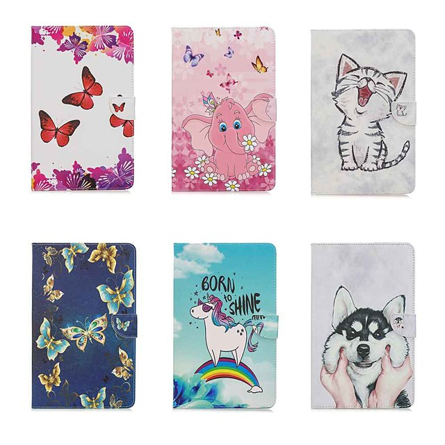 Case For Apple Ipad air3 10.5' 2019 / Ipad Pro 11''2020 Wallet / Card Holder / with Stand Butterfly PU Leather / TPU for iPad 10.2''(2019) / iPad Air / iPad (2018) / iPad Air 2