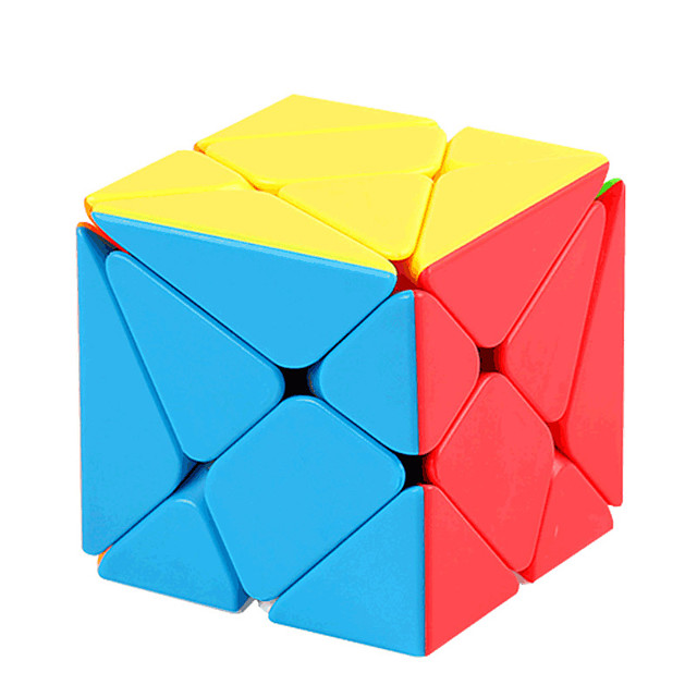 Speed Cube Set 1 pc Magic Cube IQ Cube Pyramid Alien Megaminx 2*2*3 Magic Cube Puzzle Cube Professional Level Stress and Anxiety Relief Focus Toy Classic & Timeless Kid's Adults' Toy All Gift