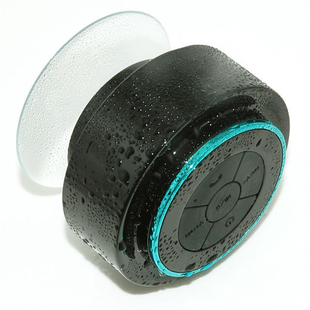 Waterproof Bluetooth Speaker Portable Mini Pocket Size Hands Free Loud Sound Box Waterproof IPX7 for Swimming Pool Bathroom Shower Beach Outdoor Sports