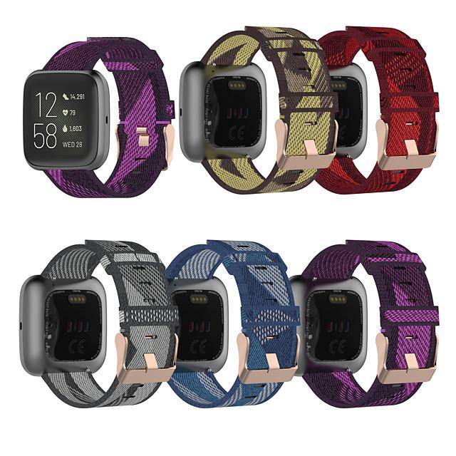 Watch Band for Fitbit Blaze / Fitbit Versa / Fitbit Versa Lite Fitbit Sport Band / Classic Buckle Nylon Wrist Strap