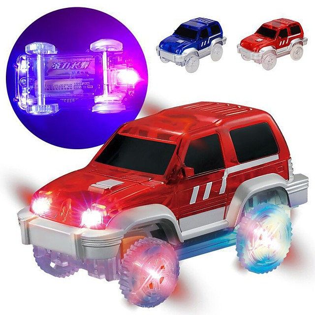 Car Car Race Car LED Cool DIY Mini Car Vehicles Toys for Party Favor or Kids Birthday Gift 1 pcs / Kid's