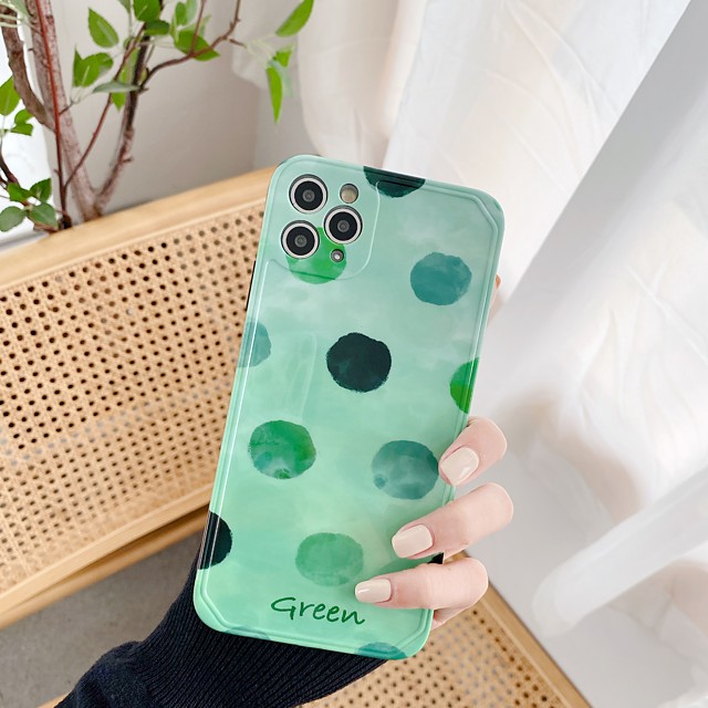 Case For Apple iPhone 11 / iPhone 11 Pro / iPhone 11 Pro Max Shockproof Back Cover Geometric Pattern TPU