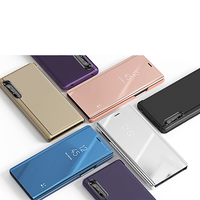 Case For Sony Sony Xperia 10 / Sony Xperia 10 Plus / Sony Xperia 1 Shockproof Full Body Cases Solid Colored Plastic