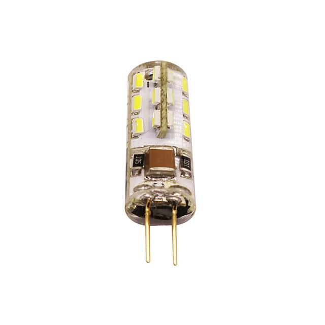 G4 LED Bulb Bi-Pin Base Lampe Spot 3014 SMD 24 LEDs 220V 20W Halogen Bulb Equivalent 2W Pour Maison 360 Degree White Warm White 1pc