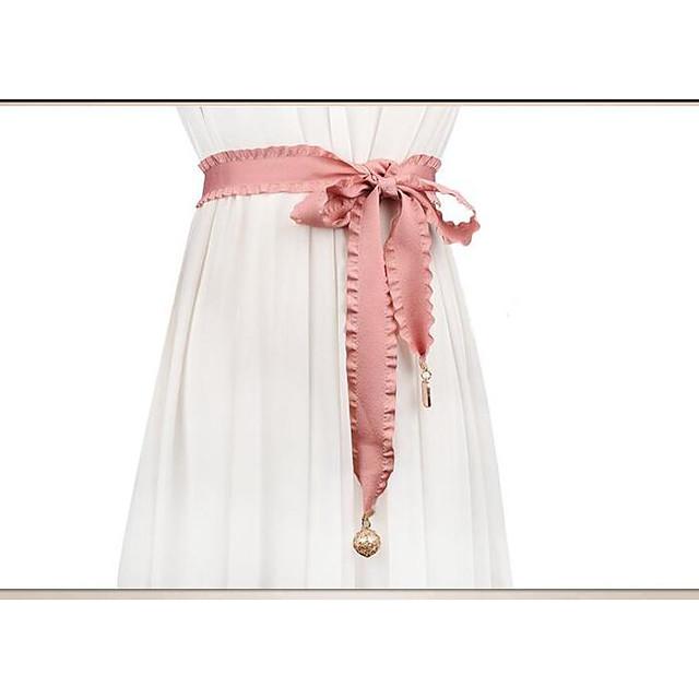 50% Acrylic / 50% Cotton Wedding / Party / Evening Sash With Belt Women's Sashes