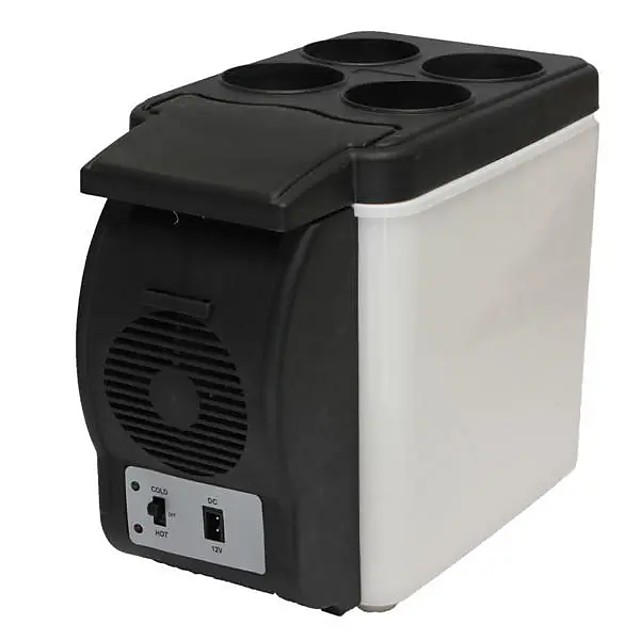 Mini Auto Home Camping Car Refrigerator 6L Electric Cool Box Cooler and Warmer