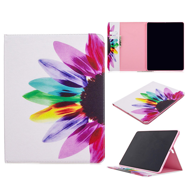 Case For Apple iPad Pro 11''(2020) Ipad Pro 12.9''(2020) Phone Case PU Leather Material Painted Pattern Phone Case for iPad Mini 5 4 3 2 1 iPad 9.7 iPad 2017 iPad 2018