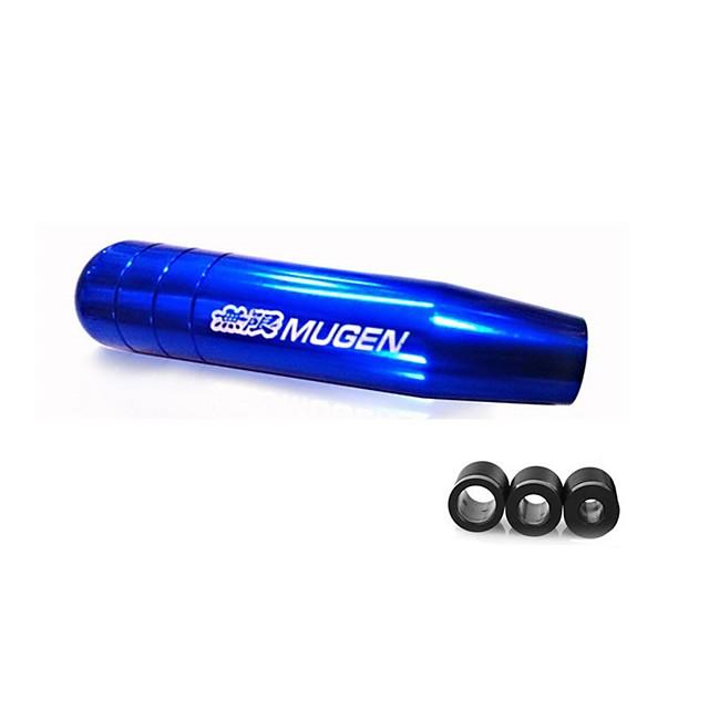 Universal 13cm/17cm Length Manual Car Gear Shift Knob Aluminium Alloy Racing Mugen Shift Knob