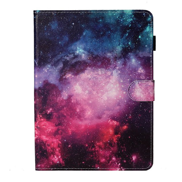 Case For Apple iPad New Air 10.5 / iPad Mini 3/2/1/4/5 Card Holder / with Stand / Flip Full Body Cases Scenery PU Leather For iPad 10.2 2019/Pro 11 2020/Pro 9.7/2017/2018