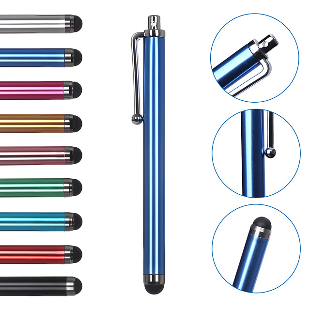 5pcs Universal Capacitive Touch Screen Stylus Pen for Any phone Any pad Touch Suit for all Smart Phone Tablets PC