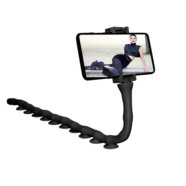 Cute Caterpillar Lazy Bracket Mobile Phone Desktop Bicycle Car Holder Worm Flexible Suction Cup Stand Home Wall Live Support
