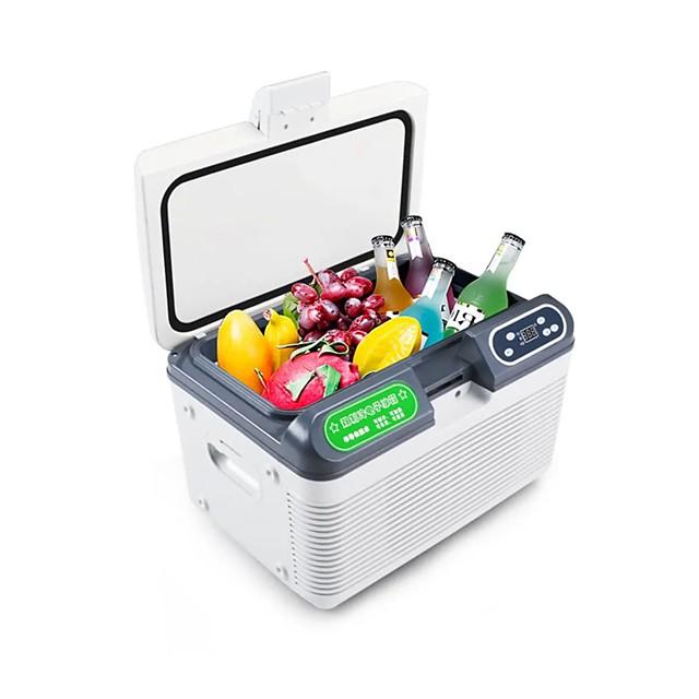 12L AC220V DC12-24V 68W Car Refrigerator Double Freeze or Heating Mini fridge