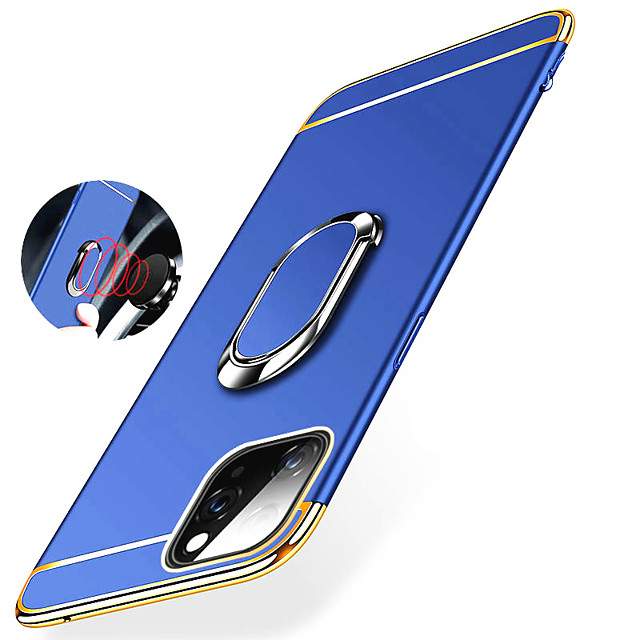 Magnetic Ring Ultra Thin Hard PC Holder Stand Phone Case For iphone 11 Pro Max SE 2020 XR XS Max X 8 Plus 7 Plus 6 Plus Shockproof Protection Back Cover