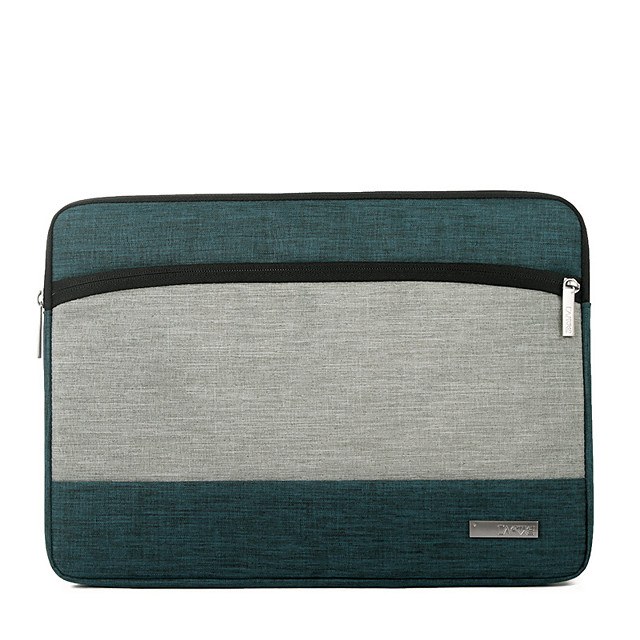 11.6/12/13.3 Inch Canvas Business Laptop Bag Flat Notebook Waterpoof Shock Proof Briefcase
