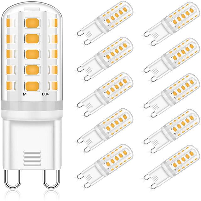 10pcs 5 W LED Bi-pin Lights 400 lm G9 T 32 LED Beads SMD 2835 Decorative Warm White Natural White White 220-240 V