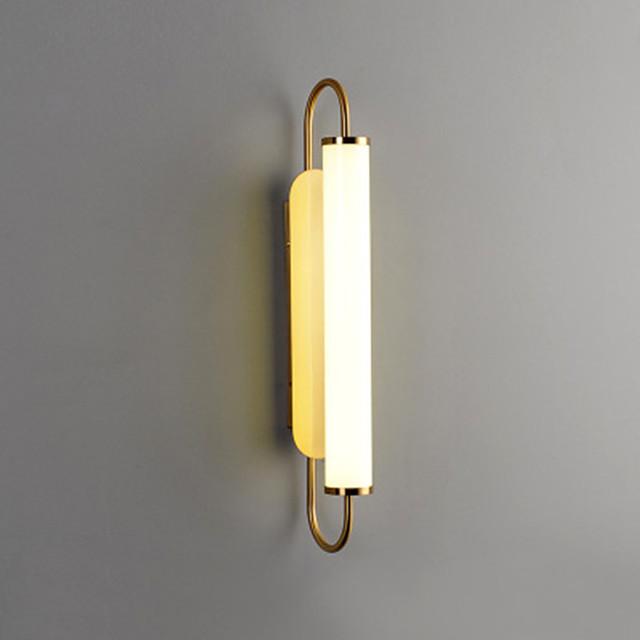 Simple Living Room Long Wall Lamp Light Luxury Atmosphere Bedroom Bedside Lamp Mirror Headlamp Staircase Corridor Lamp 12W