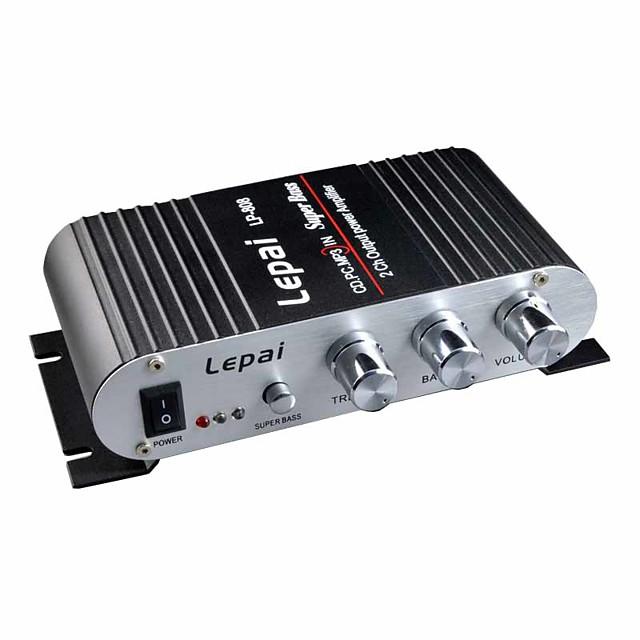 Power Amplifier Digital Audio Stereo Hi-Fi 15+15 2.0 LP-808 Car USB 2.0 80 for Car Home Theater Speakers DIY