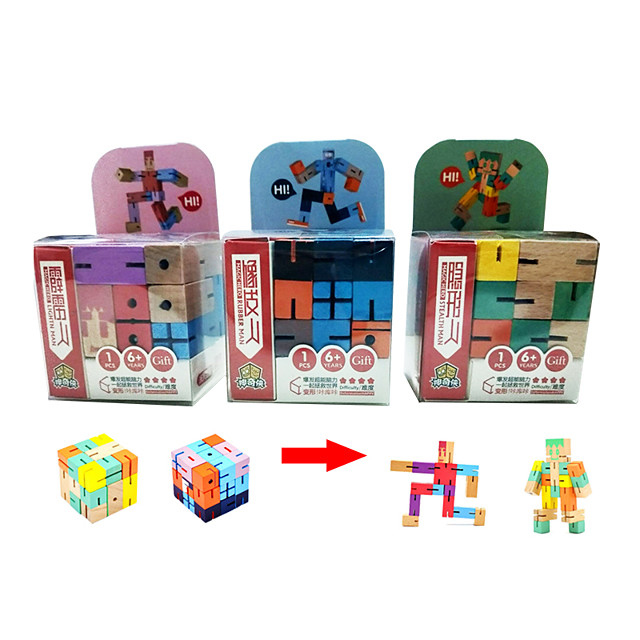 Speed Cube Set 1 pc Magic Cube IQ Cube Wood Pyramid Alien Megaminx 3*3*3 Magic Cube Puzzle Cube Professional Level Stress and Anxiety Relief Focus Toy Classic & Timeless Kid's Adults' Toy All Gift