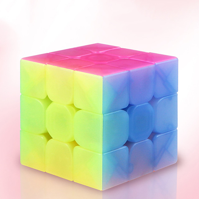 Speed Cube Set 1 pc Magic Cube IQ Cube Pyramid Alien Megaminx 3*3*3 Magic Cube Puzzle Cube Professional Level Stress and Anxiety Relief Focus Toy Classic & Timeless Kid's Adults' Toy All Gift