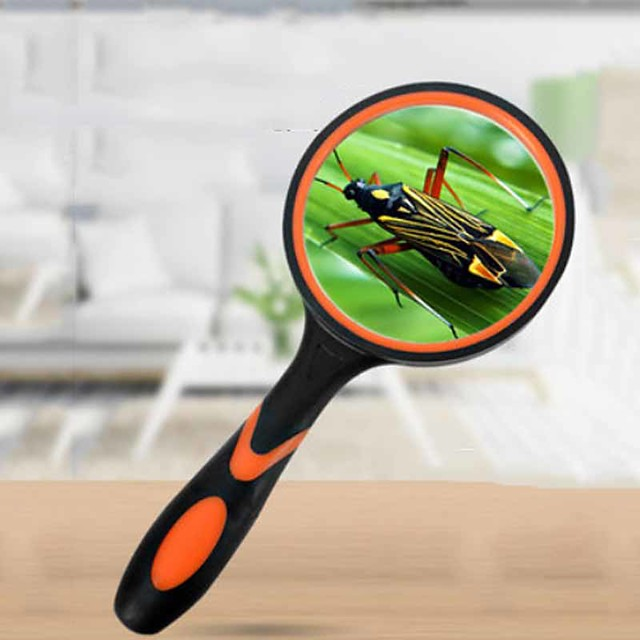 Magnifier Magnifying Glass Set LED Handheld High Magnification with Lighting Function 20 Magnifiers / Magnifier Glasses Reading Inspection 65 mm Outdoor Indoor Seniors