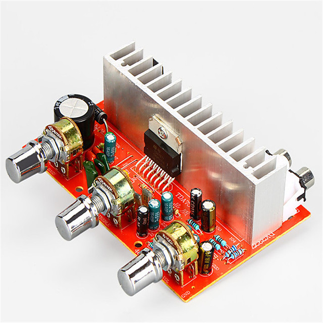 Amplifier Board Digital Audio Stereo 12-15 V 40+40 2.0 TDA7377 Adapters Car 20-20000 Hz for Car Home Theater Speakers DIY