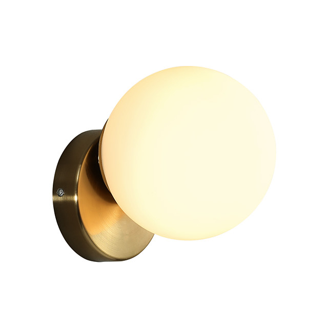 Matte Modern Nordic Style Wall Lamps & Sconces Living Room Shops Cafes Glass Wall Light 110-120V 220-240V 12 W