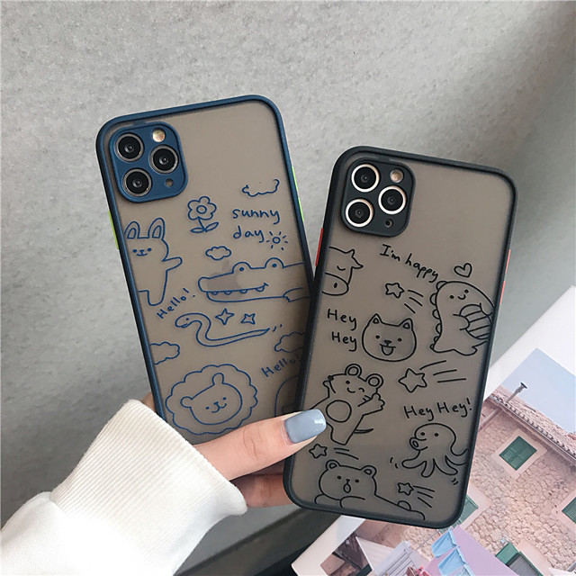 Case For Apple iPhone11/11Pro/11Pro Max/X/XS/XR/XS Max  Shockproof / Transparent Back Cover Flower TPU