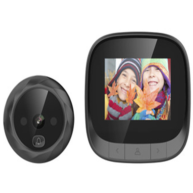 2.4 Viewable Cat Eye Doorbell Camera Supports Night Vision Camera with Built-in Memory Loop Covering Long Standby