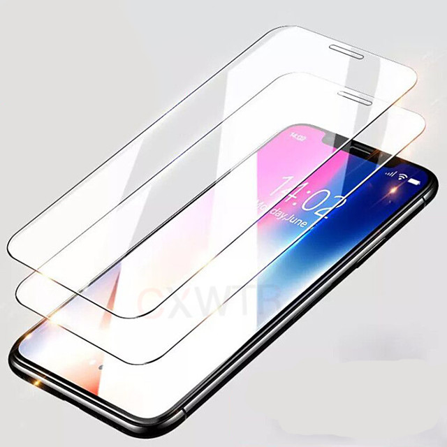 2PCS coverage tempered glass for iphone 7 6 6s 8 plus glass iphone 11PRO xs max SE screen protector protective glass on iphone 7 plus