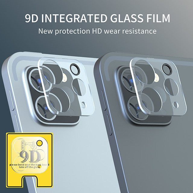 Camera Screen Protector For iPad Pro 2020 HD Lens Protection Case For For iPad Pro 11 Pro 12.9 Tempered Glass Film 2PCS