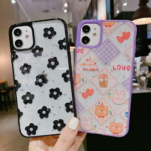 Case For Apple iPhone 11 / iPhone 11 Pro / iPhone 11 Pro Max Shockproof Back Cover Cartoon Plastic
