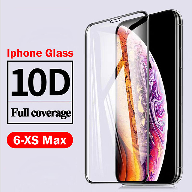 AppleScreen ProtectoriPhone 11 10D Touch Compatible Front Screen Protector 1 pc Tempered Glass