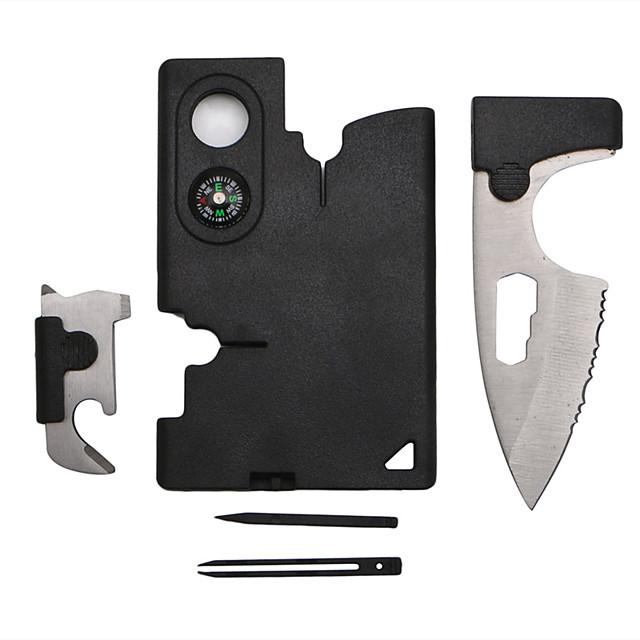 10 in 1 Multi Purpose Survival Tools Pocket Credit Card