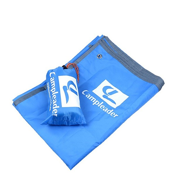 Picnic Blanket Outdoor Camping Rain Waterproof Anti-Slip Wearable Oxford Cloth 200*150 cm for 2 - 3 person Climbing Camping / Hiking / Caving Traveling Spring Summer Army Green Orange Blue