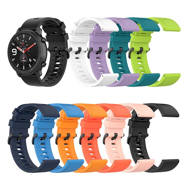 Watch Band for Amazfit  GTR  47mm / Amazfit GTR 42mm Amazfit Sport Band Silicone Wrist Strap