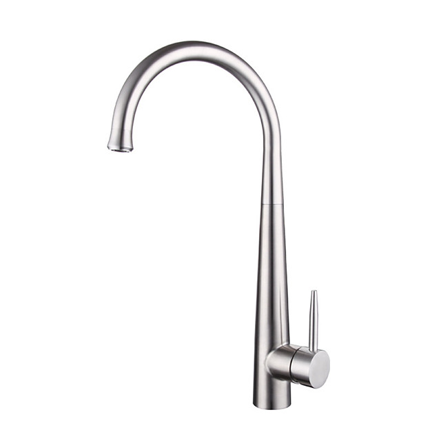 304 stainless steel kitchen hot and cold faucet lead-free drawable rotatable sink faucet