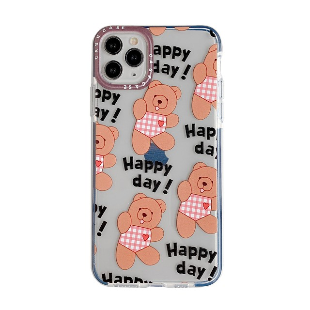 Case For Apple iPhone 11 / iPhone 11 Pro / iPhone 11 Pro Max with Stand / IMD / Pattern Back Cover Animal / Cartoon TPU
