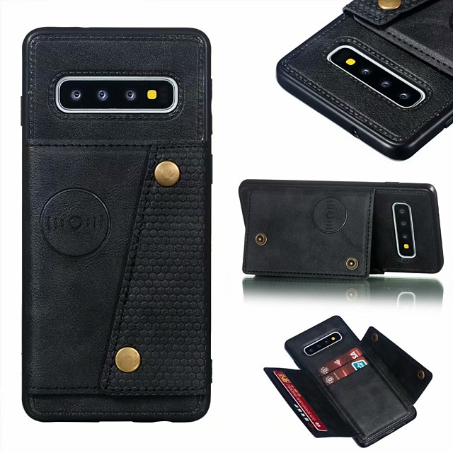 Case For Samsung Galaxy S20 Ultra / S20 Plus / Note 9 Shockproof / Pattern Full Body Cases Tile / Scenery PU Leather / TPU