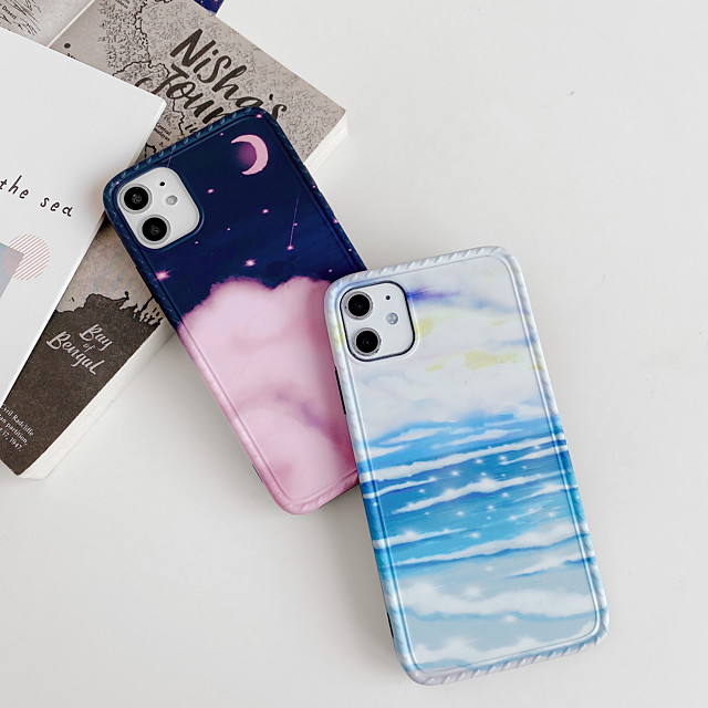 Case For Apple iPhone 11 / iPhone 11 Pro / iPhone 11 Pro Max Shockproof Back Cover Scenery TPU