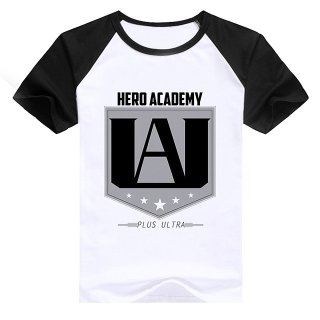 Inspired by My Hero Academia Boko No Hero Toga Himiko Cosplay Costume T-shirt Polyster Print Printing T-shirt For Men's / Women's